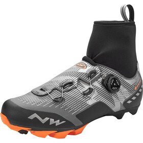 Northwave Raptor GTX Sko Herrer, reflective/orange lobster